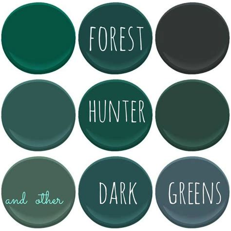 benjamin moore dark greens absolute green bavarian