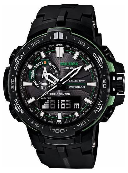 1a Casio Atomic Solar Protrek Pro Watches