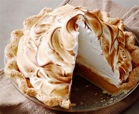 cuisine meringue thanksgiving dinner pumpkin meringue pie the pioneer