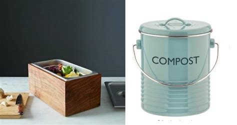 kitchen compost bin 10 stylish countertop compost bins treehugger