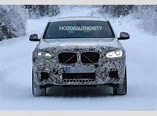 2019 BMW X4 M spy shots