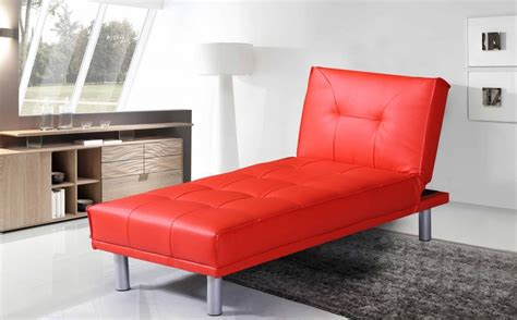 modern leather chaise longue manhattan contemporary modern faux leather chaise