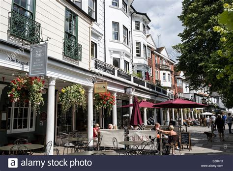 The Pantiles, Tunbridge Wells, Kent, Uk Stock Photo