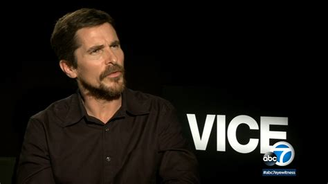 Christian Bale Transforms Himself Into Former Dick