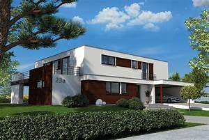 Häuser Im Bauhausstil : bauhausstil flachdach iqexklusivhaus ~ Watch28wear.com Haus und Dekorationen