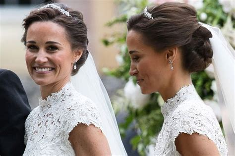 pippa middleton wedding hair elegant wedding hair