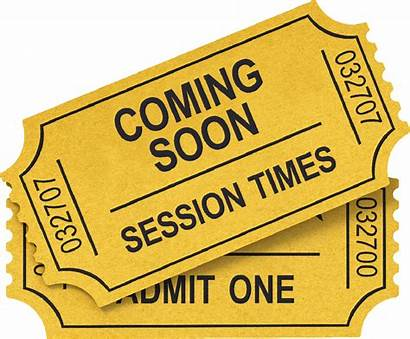 Ticket Clipart Tickets Transparent Session Pluspng Cinema