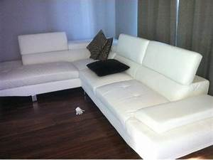 white leather zane sectional for sale gatineau sector With used sectional couch for sale ottawa