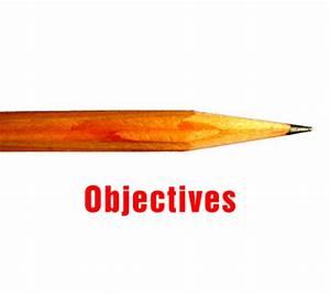 Learning Objectives - Training Assessment Education