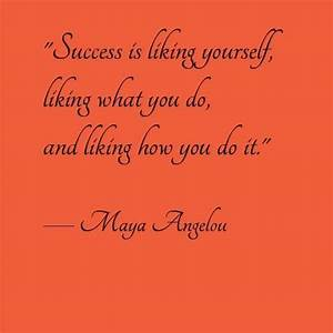 Maya Angelou Quotes Success. QuotesGram