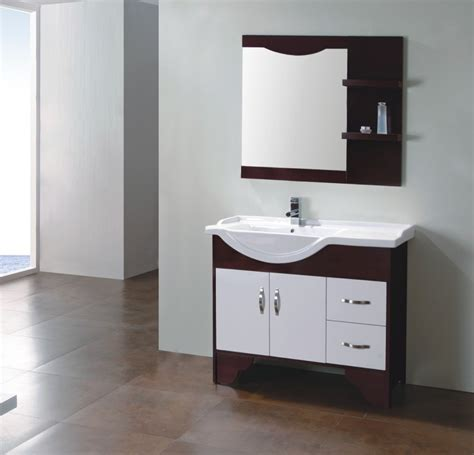 Solid Wood Bathroom Cabinet by China Solid Wood Bathroom Cabinet Fm S8059 China Solid