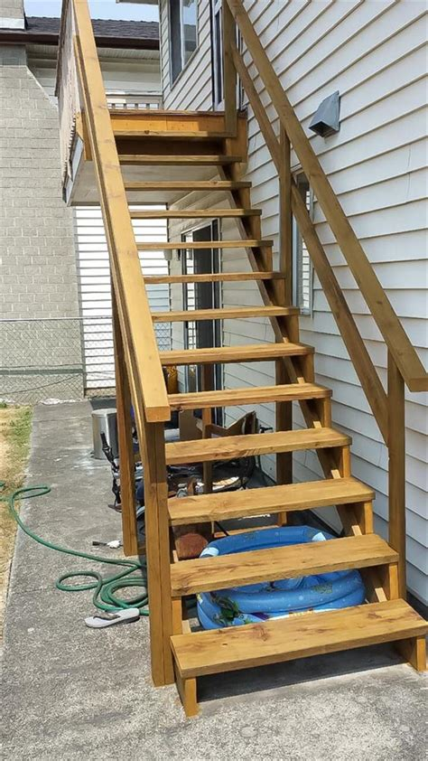 outdoor staircase replacement