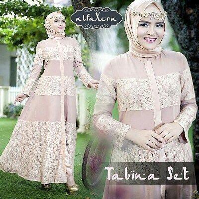 Abaya Gangga Set Celana tabina set by alfaxera tunik celana pashmina fabric tunik