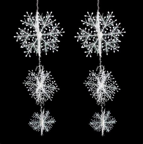 aliexpress com buy wholesale 50 sets christmas decorations snowflake christmas hanging