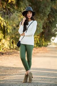 What to Wear With Olive Green Pants This Fall