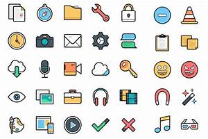 Free Download  100 Lulu Vector Icons