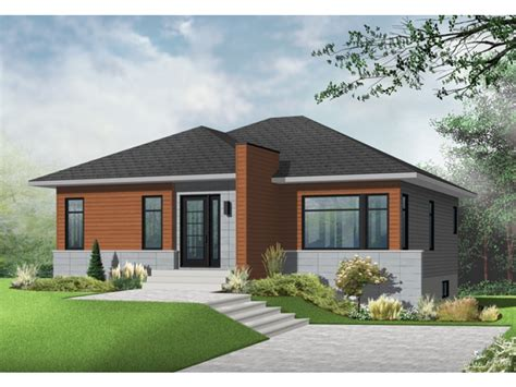 Modern Home Plans Canada Ideas by Eplans Modern Contemporary House Plan Understated