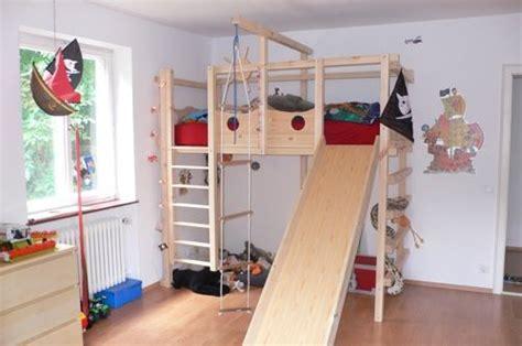 kindermöbel selber bauen hochbett kinderbett etagenbett babybett abenteuerbett