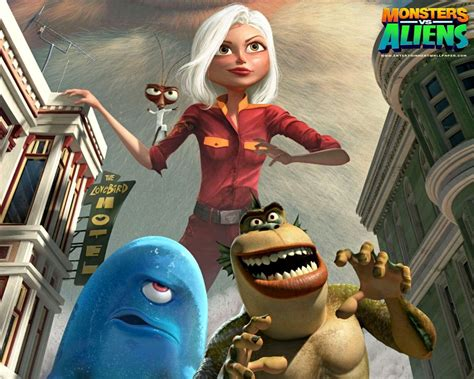 Monsters Vs. Aliens Wallpaper