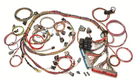 painless engine wiring harness engine swap front fuse