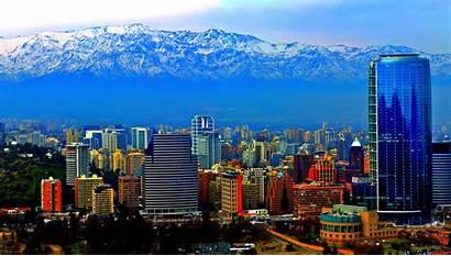 Chile Santiago Panorama Wallpapers