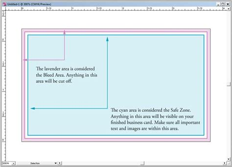 Setting Up A Business Card Template In Adobe Illustrator