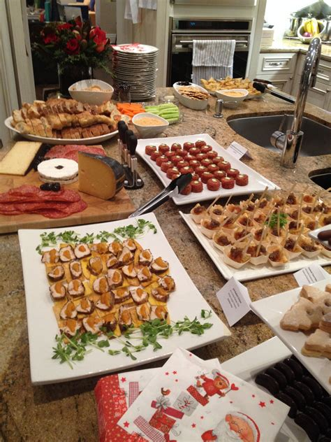 This is not a usual christmas dish, as it has too much other rich food to compete with during the christmas feast, however, it will fit the bill perfectly. Appetizers   No cook appetizers, Christmas party menu ...