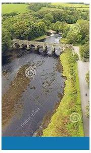 Bridge At River Crana Buncrana Castle O'Doherty's Keep Co ...