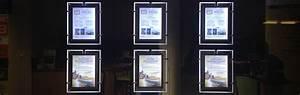 Cadre Photo Lumineux : agences immobili res portes affiches atelier enseignes ~ Teatrodelosmanantiales.com Idées de Décoration