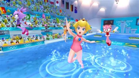 mario sonic   london  olympic games wii