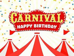 Carnival Themed Birthday Party Package