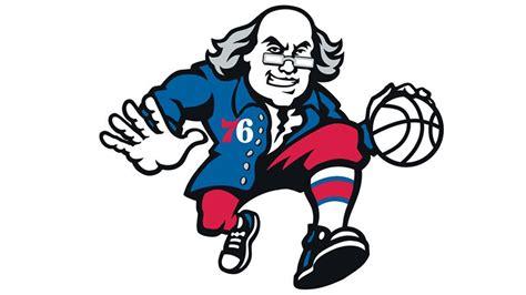 Franklin Philadelphia Ers lukas sixers score  ben franklin logo 800 x 450 · jpeg
