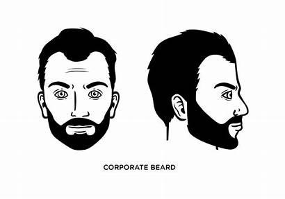 Beard Corporate Styles Office Examples Hair Type