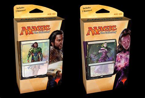 amonkhet set of 2 planeswalker decks gideon liliana magic products 187 intro starter theme