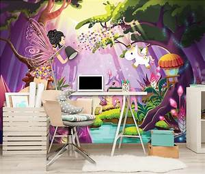 Regenbogen Tapete Kinderzimmer : fototapete tapete wandbild vlies 150228fw photo wallpaper mural einhorn kinder p ebay ~ Sanjose-hotels-ca.com Haus und Dekorationen