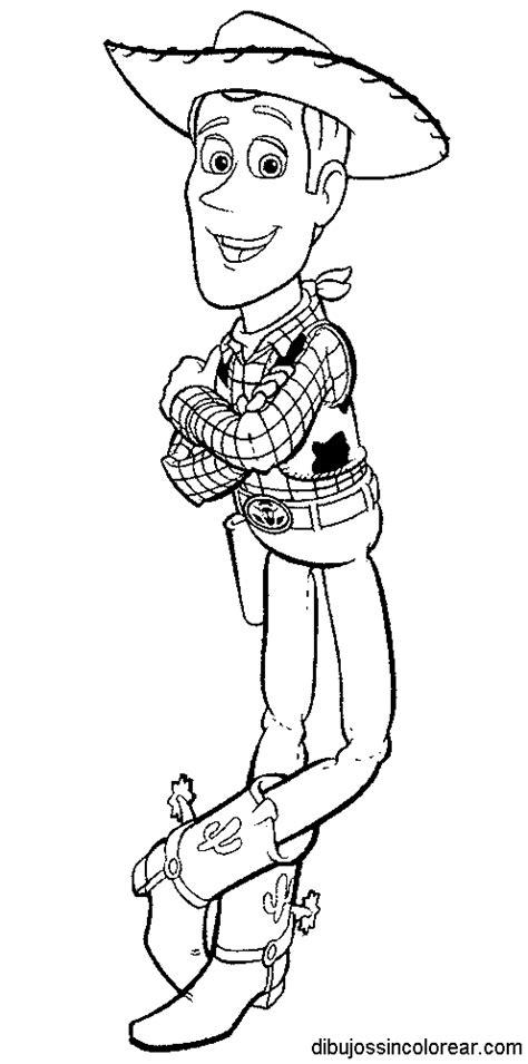 dibujos sin colorear dibujos de woody de toy story