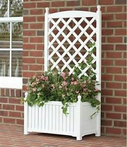 Blumenkasten Holz Mit Rankgitter : pflanzkasten mit rankgitter interessante exterieur l sungen ~ A.2002-acura-tl-radio.info Haus und Dekorationen