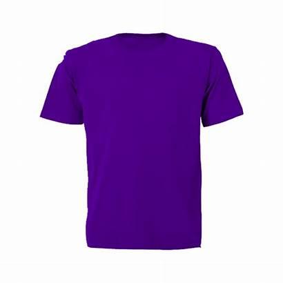 Shirt Plain Shirts Purple Sleeve Short Orange