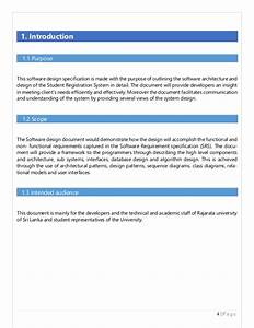 database design specification template choice image With database design specification template