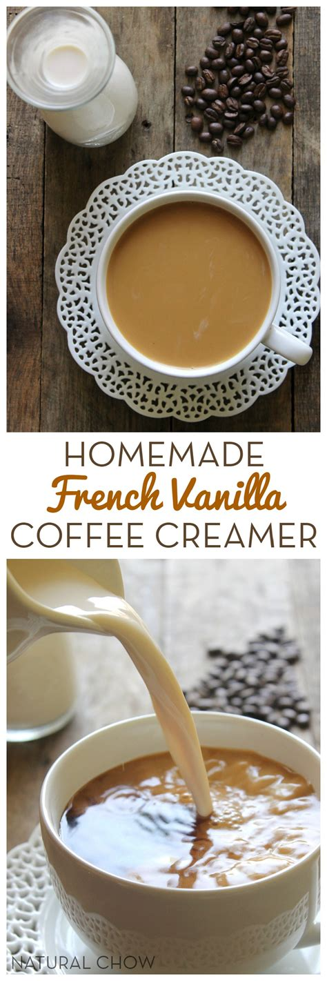 Leave a comment and let us know if you try it. Homemade French Vanilla Coffee Creamer | Natural Chow