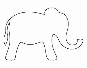 25 best ideas about elephant template on pinterest With elephant template for preschool