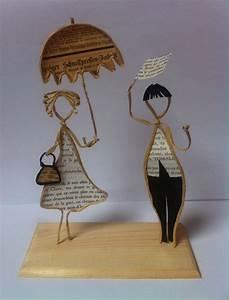 Fabriquer Un Treillage En Fil De Fer : sculptures en papier fil kraft arm sur support en bois po sie de papier ~ Voncanada.com Idées de Décoration