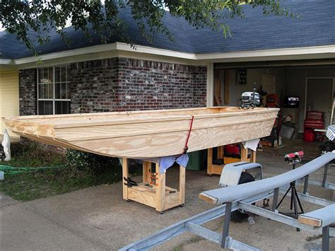 fishing guide  plywood jon boat plans