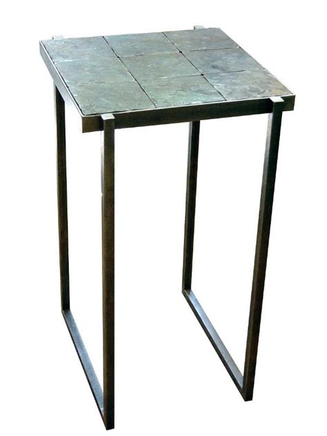 what to put on end tables besides ls slate side table www lamacek com
