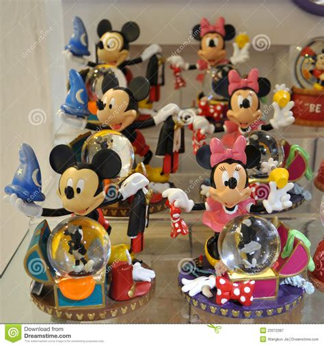 mickey  minnie mouse decoration editorial photography