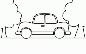 Car Coloring Pages | PrintFree