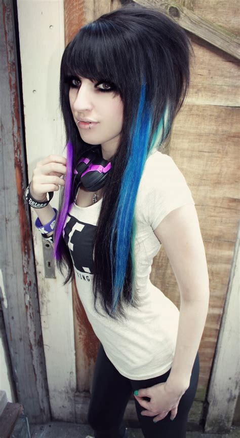 emo hairstyles  girls feed inspiration
