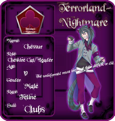 Terrorlandnightmare Cheshire Cat By Cuteuke On