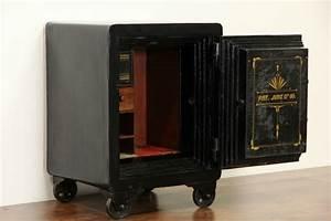 SOLD Cast Iron Antique Safe Combination Lock Pat 1888