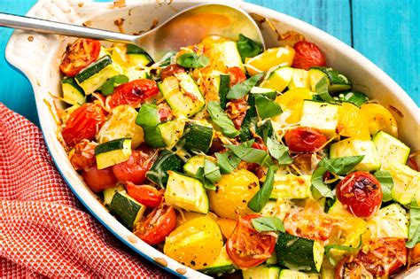 Cooking School Summer Tomatoes by Best Zucchini Tomato Bake Recipe How To Make Zucchini
